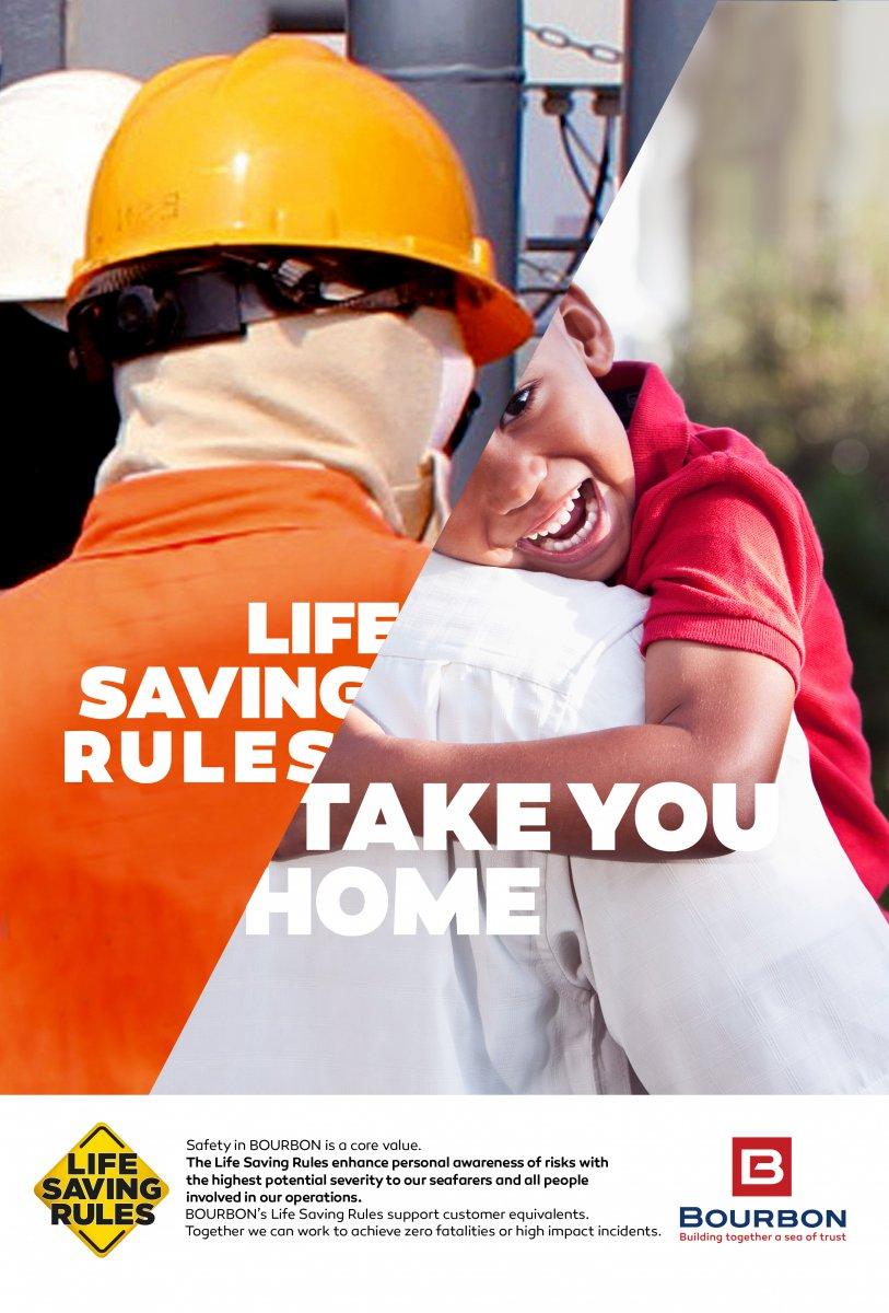 Life saving rules take you home